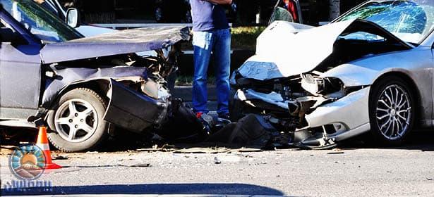 تصادف خودروهای لوکس