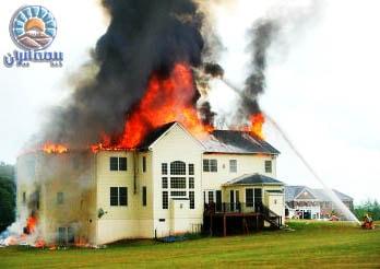 آتش سوزی مسکن